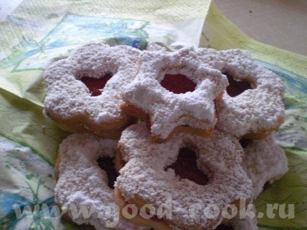 Рождественская выпечка Spitzbuben – Шалунишки 425 г муки 75 г сахара 2 пакетика ванильного сахара 1...