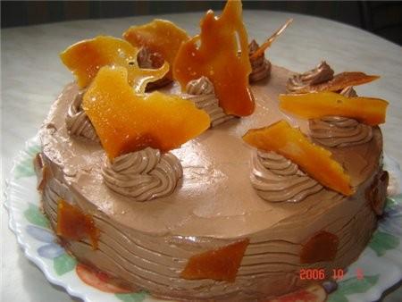 """Иришка, сделала твой тортик """"Янтарь"""", очень-очень вкусненький, только мне показалось, что можно кор..."""
