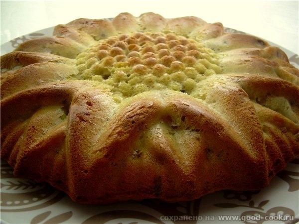 Кейк с орехами, лимоном и бананами до сметанной заливки - 2