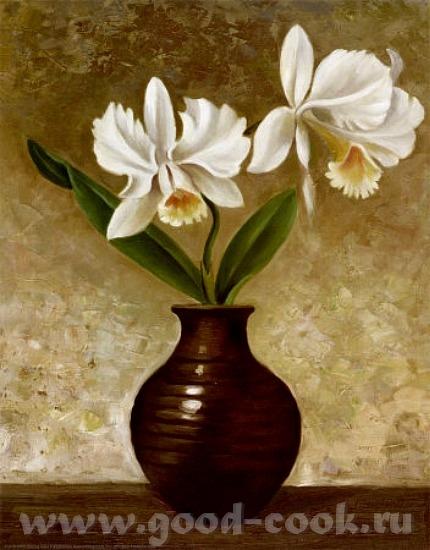Надюнчик У меня есть такие картины с орхидеями может быть они вам понравится Martin Johnson - 4
