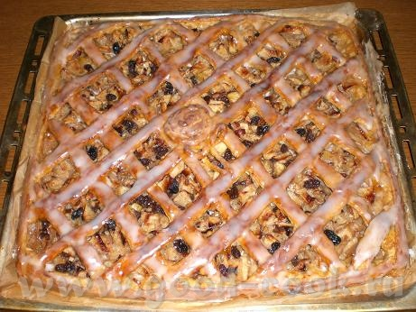 Яблочный пирог из Верхней Австрии (Steyrischer Apfelkuchen) (перевод с немецкого и фото-мои) Для те...