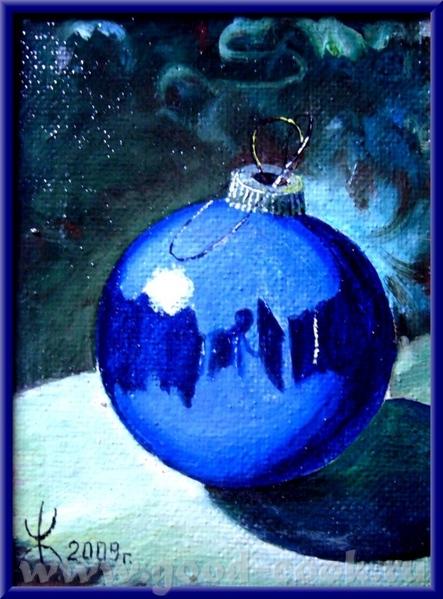 к новому году навая ла несколько шаров - 2