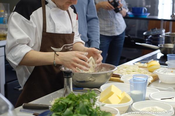 Вот так у нас обычно весело все проходит Панировка лука для жарки во фритюре Тыквенный крем-суп с г... - 2