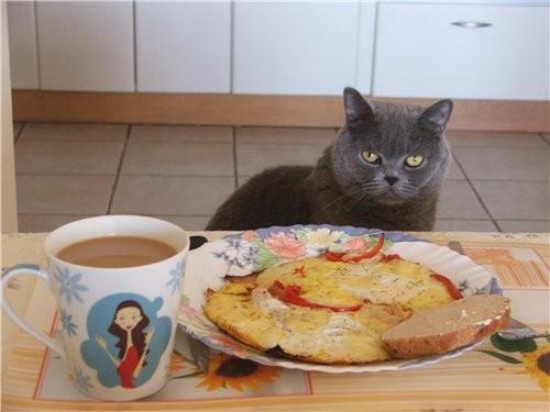 А я вчера вечером насмотрелась ваших завтраков и уже с вечера позавтракать захотела