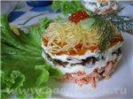 """Блюда из рыбы и морепродуктов Отварная рыба Рыбный салат """"Наслаждение"""" Тушеная рыба Рыба в томатном..."""