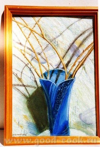 мой рисунок пастелью пастель пастель моя акварель моя акварель