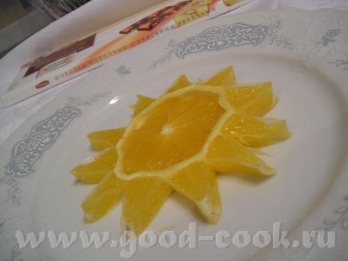 """ОТСЮДА Звезда из апельсина 1 апельсин или 1 лимон Инструкции В качестве исходного """"материала"""" для э..."""