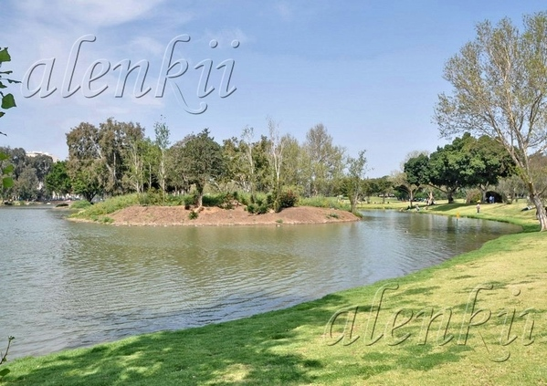 У ВОДЫ Парк Леуми (национальный парк) в Рамат-Гане