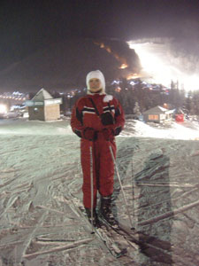 Катались на лыжах в Буковеле