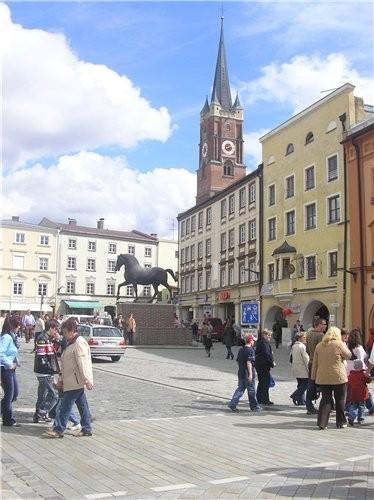 Это тоже Бавария, наш местный центр