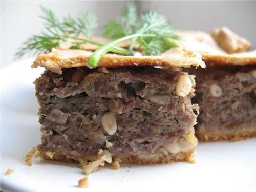 порадую я вас пирогами,на этот раз мясной тосканский мясной пирог для теста мука пшеничная 250 г, м... - 2