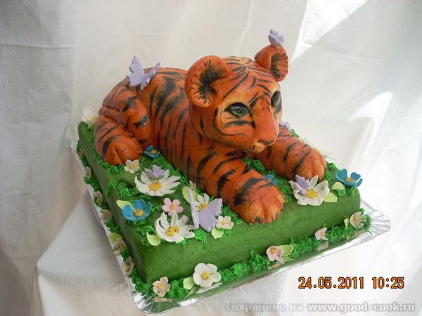 Торт тигр картинки