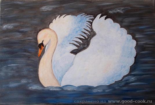 Водопад Лебедь Каллы Зима-2 - 2