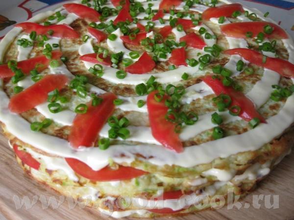 Как вы уже знаете я просто обожаю кабачки, вот еще один мой любимый рецепт Кабачковый торт Ингредие...