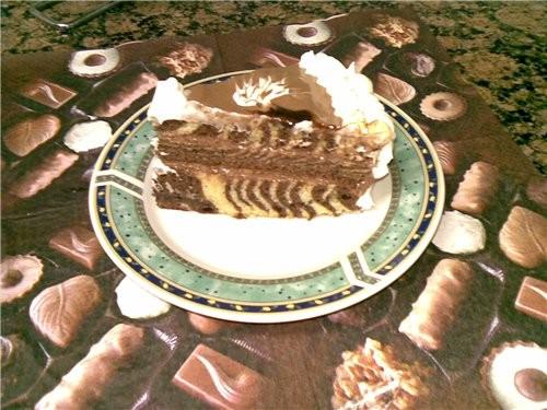 """Решила спечь торт """"Зебра"""" по рецепту своих подростковых записей,но так увлеклась украшением,что и н... - 6"""