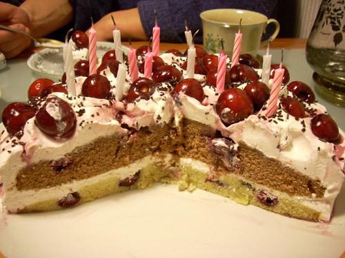 Крендель с начинкой Paris- Brest Итальянский орехово-шоколадный торт Ёлочка из профитролей с малино... - 5