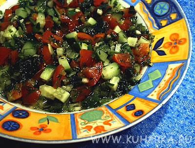 Спасибо за арабский салатик