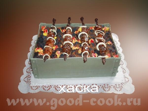 Торт очень понравился