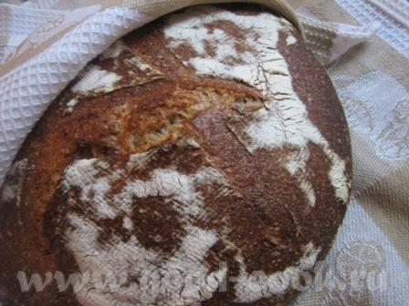 Танюш, ну это мы могем Хлеб на закваске по рецепту Нелли