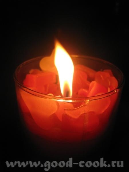 А еще я вам для любования принесла фото свечи