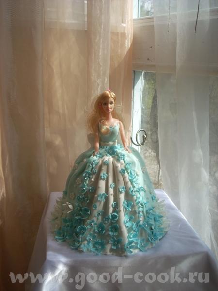 Кукла Барби А теперь та же Барби на полянке