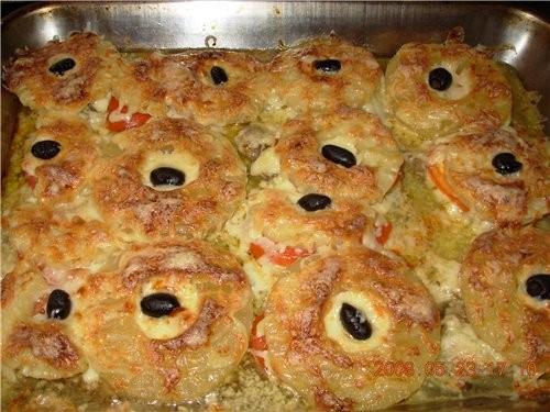 а мне хвастатсиа нечем, но выложу, многие блиуда взиаты из етого форума салат Горка баклажаны миасо... - 4