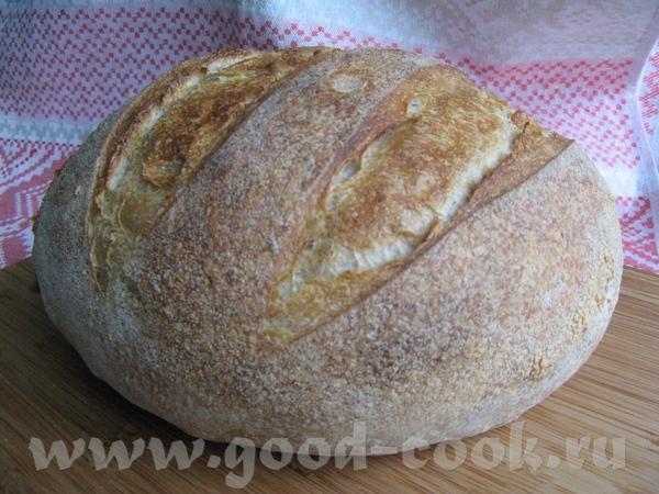 Нориджский хлеб на закваске - 2