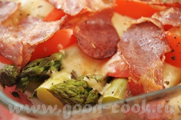 Картофельное пюре с печёными яблоками Спаржа по-итальянски - 2