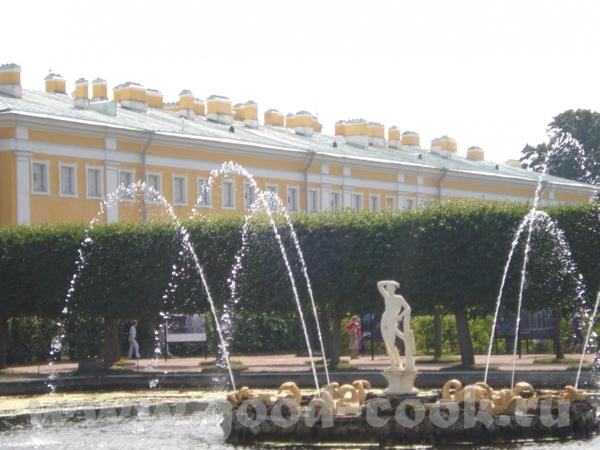 Ещё небольшая прогулка по Петродворцу - 4