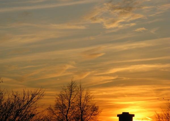 вечернее небо закат - 3