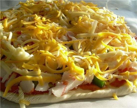 Когда нет времени готовить что-то серьезное, или нужно быстро приготовить на пикник, я готовлю пицц... - 2