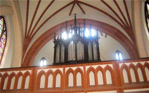 А вот костел святой Анны - 5