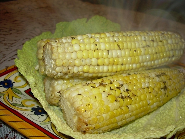 И еще один рецепт от Алены, пробовала кукурузу так впервые,всегда раньше отваривала ее, всем очень... - 2