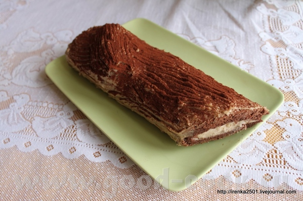 Несу, несууууууу Традиционное для нашего региона и офигенно вкусное Bыche aux marrons et marrons et...