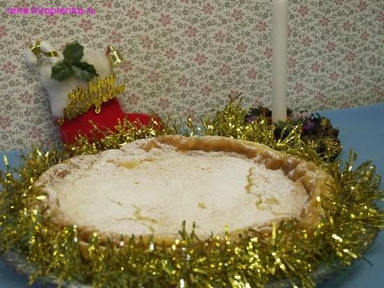 Для любителей творожной выпечки я предлагаю этот пирог