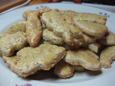 Печенье миндальное Ингредиенты: - 140 г муки - 120 г сливочного масла или маргарина - 4 вареных яич...