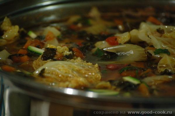 Наконец-то удалось сделать минестроне - итальянский суп из сезонных овощей - 6