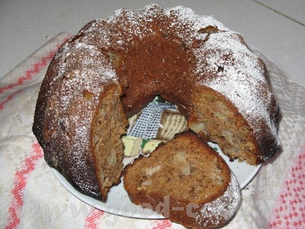 Испекла очередной кекс от Айны