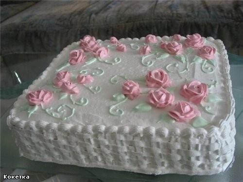 Девчёнки, какие красивые у вас тортики, заглядение а про свадебный я вообще молчу такой элегантный...