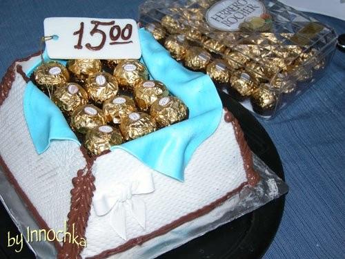 Вот такои тортик у меня получился на 15 летие сыночка