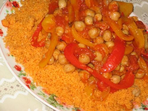 Таджин из перцев и кускуса Израильская кухня - 2