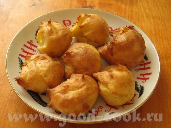 Таня, у меня получились очень вкусные «картофельные эклерчики» по твоему рецепту