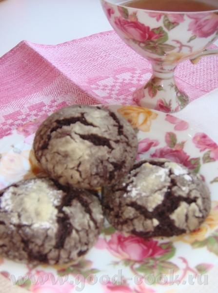 """Лиде Саяногорочке спасибо за Печенье """"Шоколадные трещинки"""""""