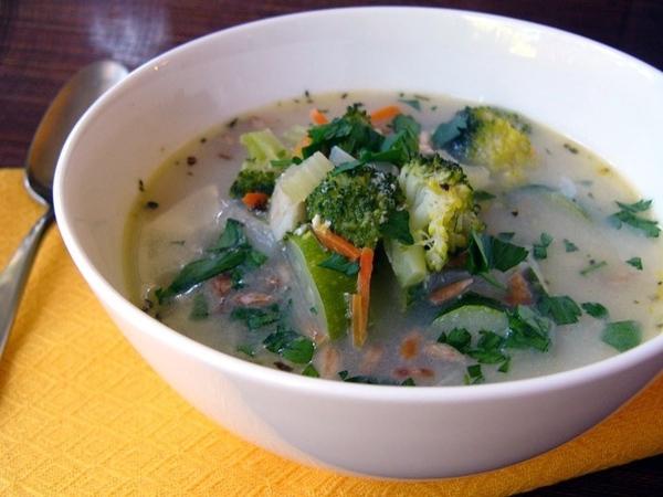 Модный суп от Насти