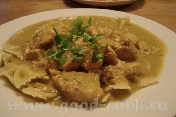 Thai Chicken Curry Ингридиенты: 1 луковица 1 пучок лемонной травы 1 ст ложка растительного масла 3-...