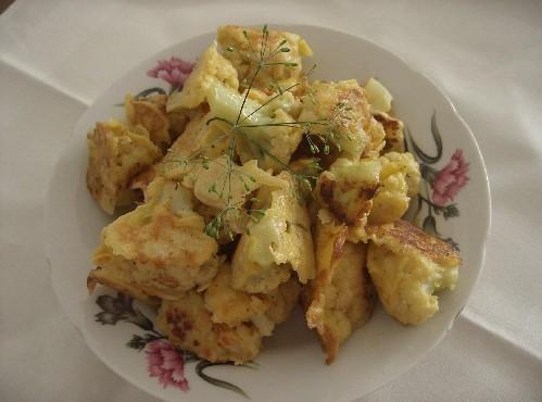 А я сегодня готовила рыбный пирог и кукурузные оладушки от А так же цветную капусту в кляре и уху - 3