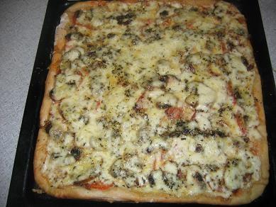 тушеная картошка и пицца с итальянскими травами на ужин соседи зашли по-соседски ,поэтому я так быс... - 2