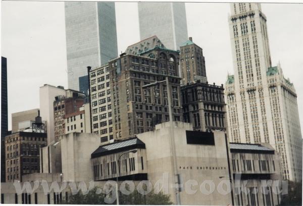 вот такое у меня фото - Нью-Йорк,Близнецы