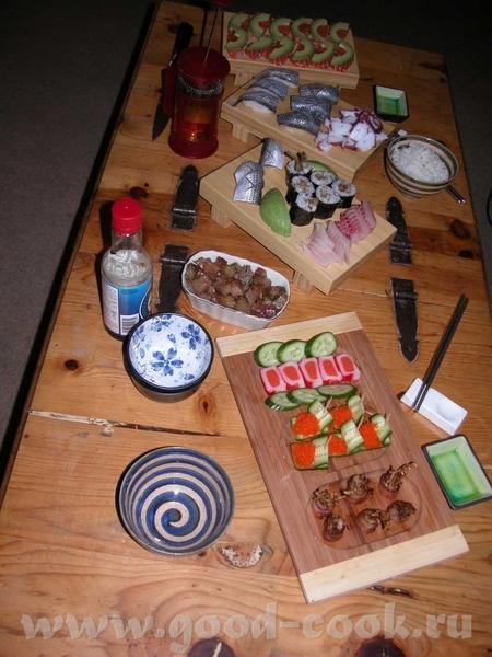 Рецептов японской кухни у меня много - 5
