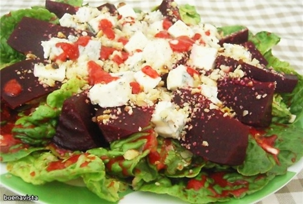 За основу салата взяла рецепт arborio